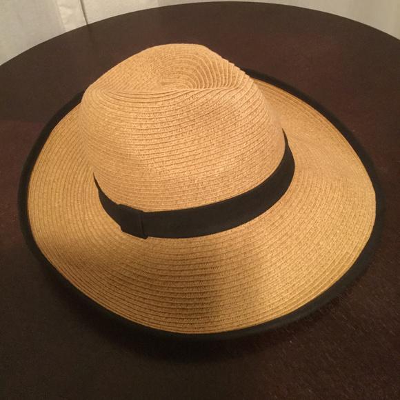 3a068168f Straw Wide Brim Packable Beach Hat